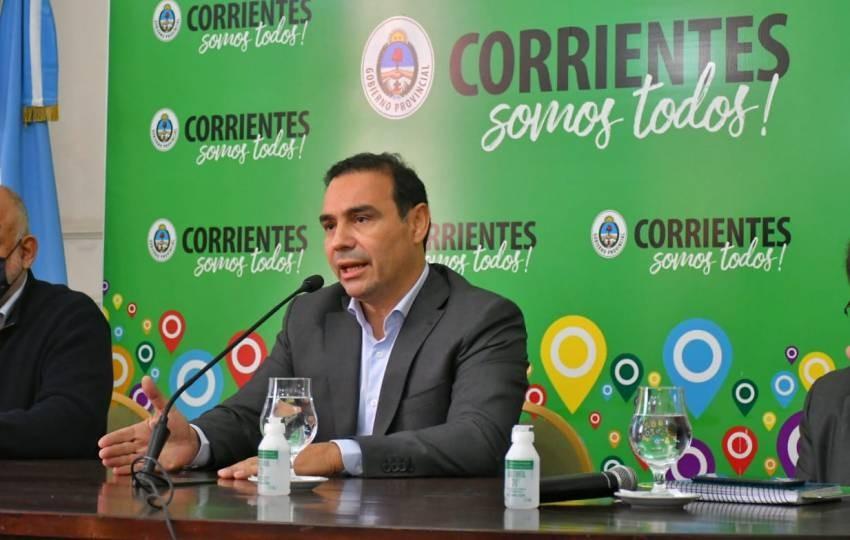 Corrientes: Valdés solicitó la apertura de los pasos fronterizos terrestres
