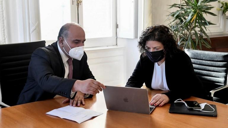 Manzur se reúne en Casa de Gobierno con sus colaboradores