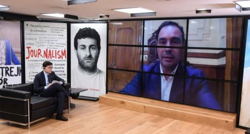 Valdés sigue dando letra al periodismo nacional