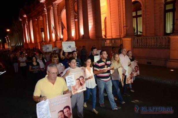 """Familiares y amigos de Antonella Ognio realizaron una """"caminata orante"""""""