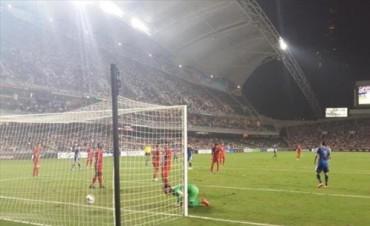 Argentina le ganó fácil a Hong Kong por 7 a 0