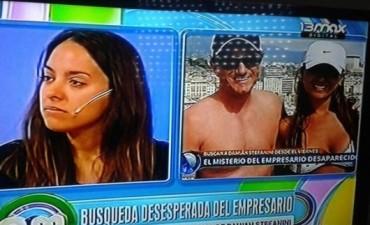 Antonella Ognio clamó en la televisión por la pronta aparición de su marido