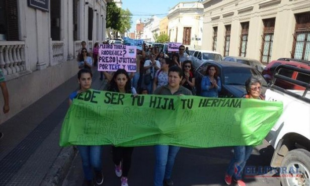 Marcharon por el caso de Teresita Arce exigiendo justicia