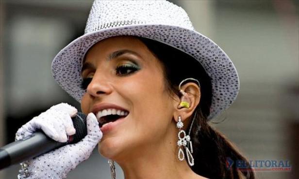 El show de Ivete Sangalo se posterga para el 20 de noviembre