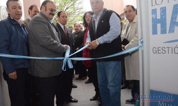 Inauguraron un laboratorio del Inti, único en esta región