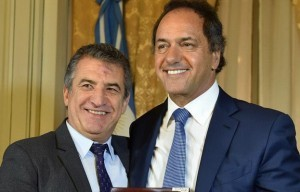 Scioli propuso a Uribarri como futuro ministro de su gabinete