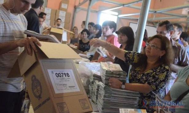 Cargan urnas y ultiman detalles para las elecciones del domingo
