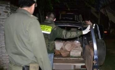 Gendarmería ratifica el secuestro de 190 kilos de droga en costa del Uruguay