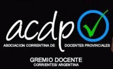 Acdp, a la espera de una convocatoria por el adelantamiento del blanqueo