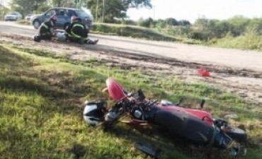 Motociclista murió tras chocar contra una retroexcavadora