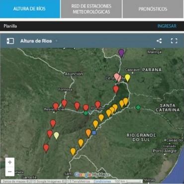El río Uruguay preocupa y el Paraná alerta a los ribereños