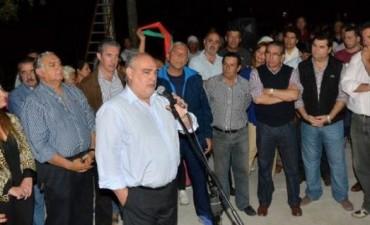 Colombi inauguró pavimento y alumbrado en avenida Caá Guazú y anunció más obras