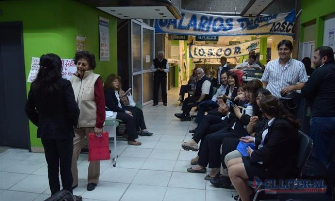Conflicto en el Ioscor: trabajadores inician paro por tiempo indeterminado