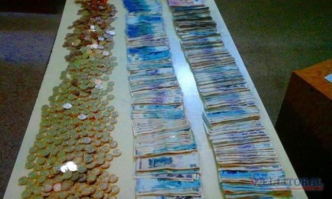 Robo al Municipio de Santa Lucía: en un camino vecinal se recuperó todo el dinero