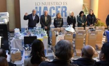 Ríos declaró la emergencia sanitaria y creó un cuerpo de médicos para Saps