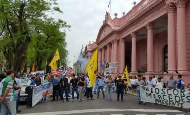 La Multisectorial reiteró reclamos con nueva marcha