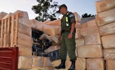 Confirmaron condenas para narcos detenidos con 2.700 kilos de droga
