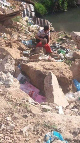 Murió un peatón que cayó al cráter de la avenida Romero