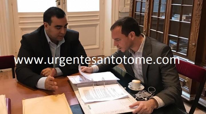 Exclusivo: El Concejal Suaid y referentes de cambiemos entregaron documentación de la