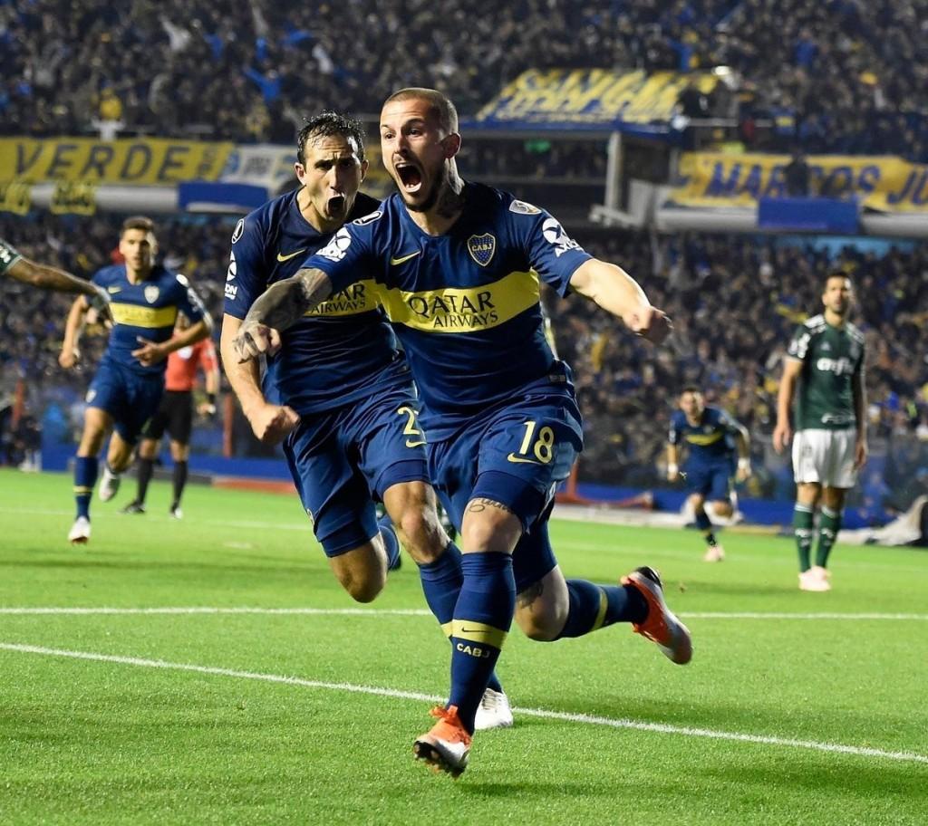Boca visita al Palmeiras por un lugar en la definición