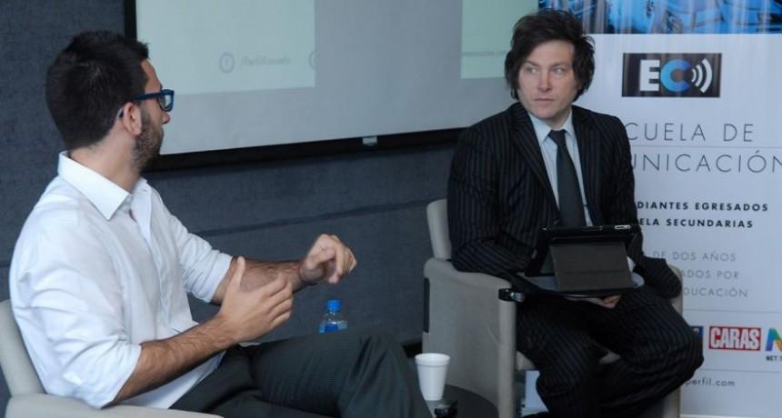 "Javier Milei: ""Vamos camino al default"