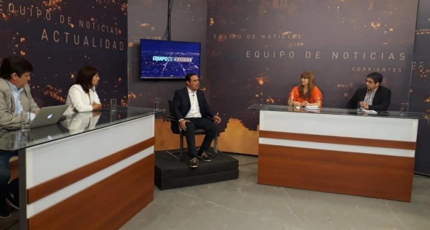 Valdés reiteró reclamo de compensación por la cuestión energética