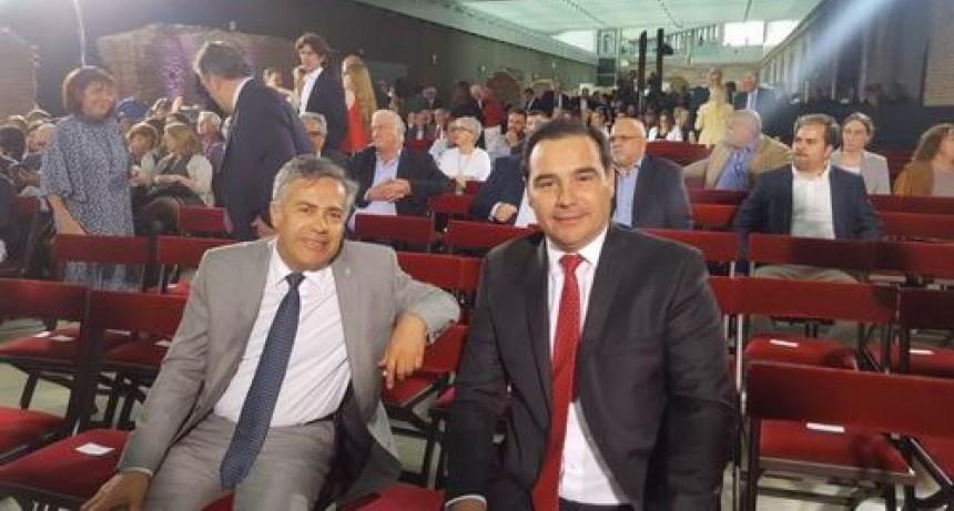 El gobernador, en homenaje a Alfonsín
