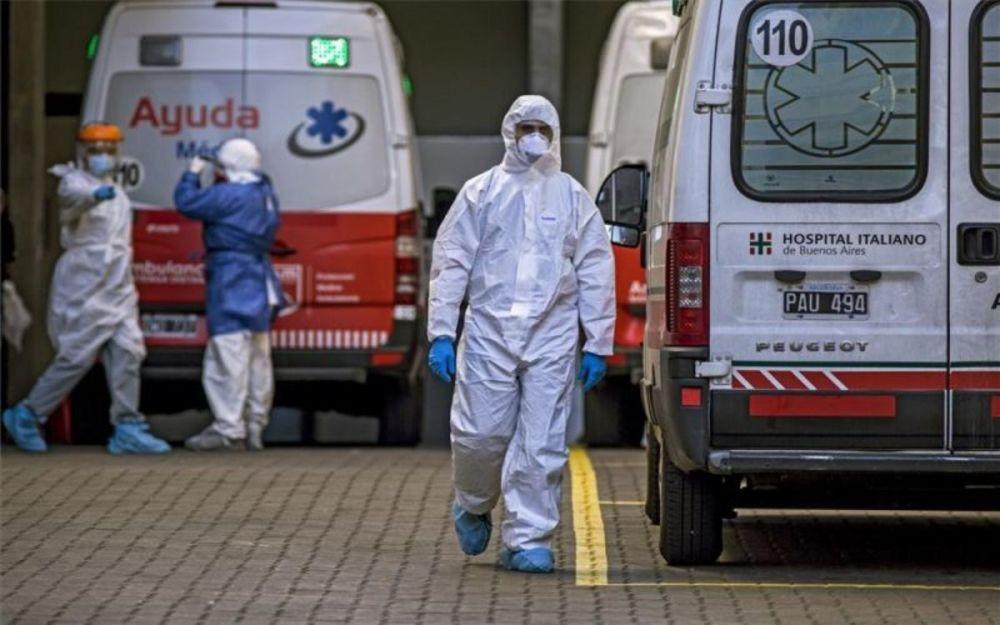 Fallecieron 430 personas de covid en las últimas 24 horas en el país