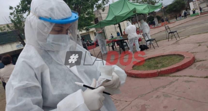 Coronavirus: hisopados masivos en el barrio Pujol por brotes de casos en Impulso