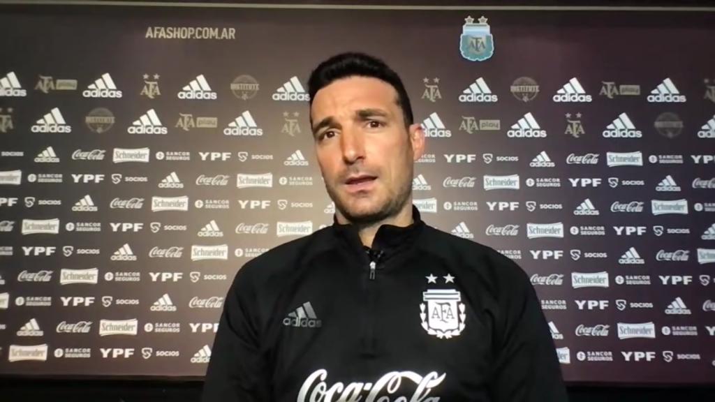 Scaloni y la formación de la Selección Argentina ante Paraguay: