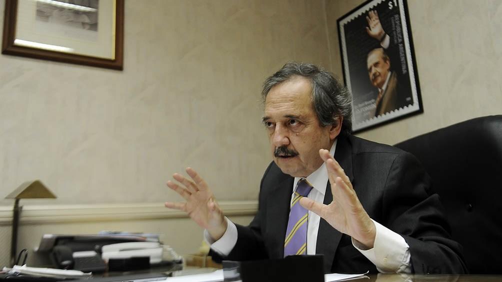 Alfonsín alertó que la derecha puede promover