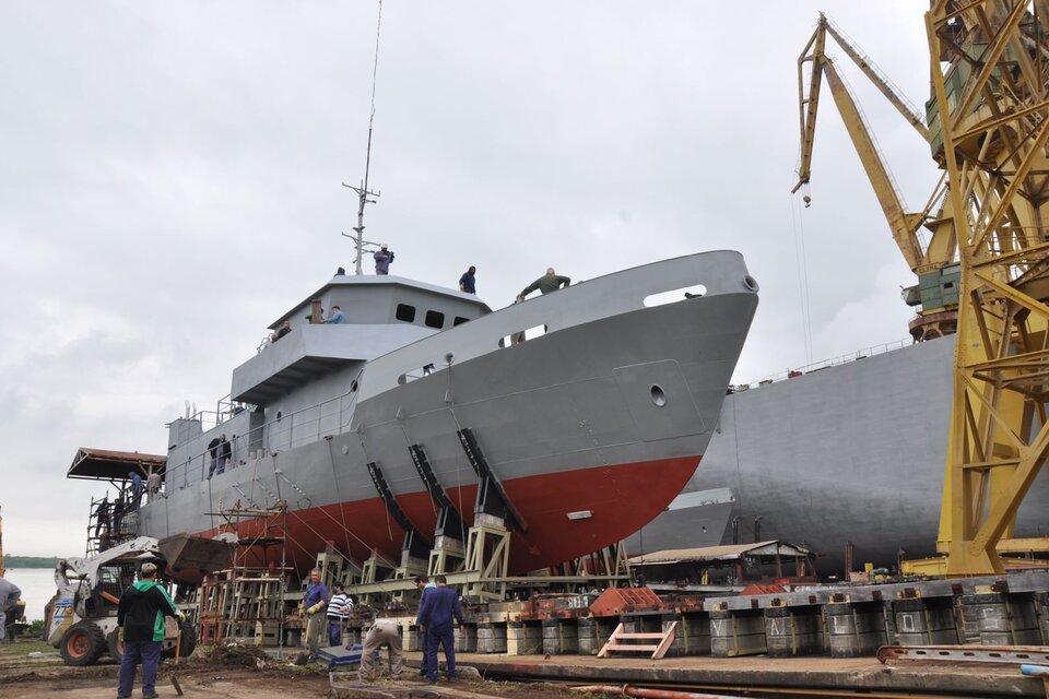 El Astillero Río Santiago volvió a construir y botar un barco tras 9 años de inactividad