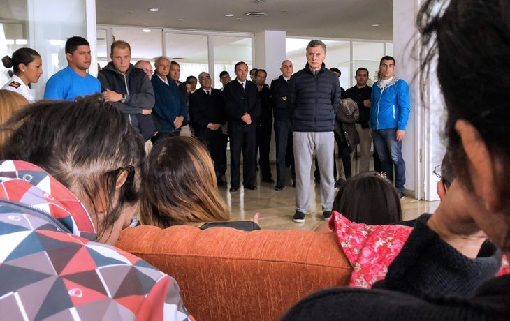 Familiares de víctimas del Ara San Juan pidieron la detención de Macri