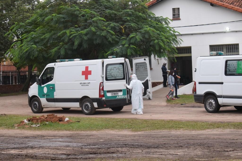 Covid-19: murieron tres personas en el Hospital de Campaña tras seis días sin decesos