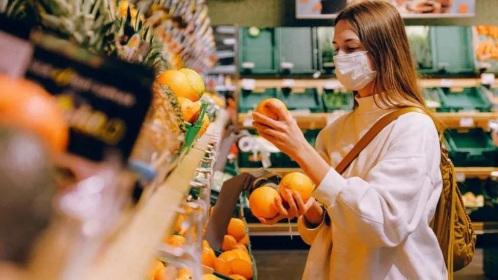 El consumo en supermercados crece respecto al 2019
