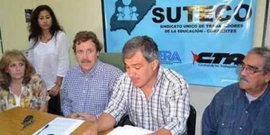 Suteco oficializó a sus candidatos