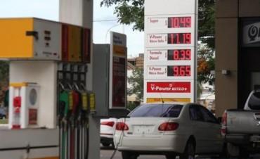 El final del congelamiento de precios en los combustibles trajo una fuerte suba