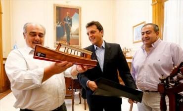 Al son del chamamé, Massa dijo que coincide con Colombi en la pluralidad del proyecto