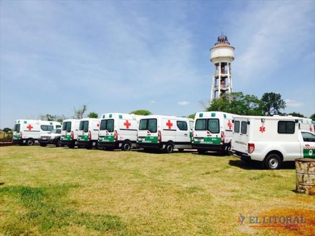 Salud prepara otra entrega de ambulancias en su plan de refuerzo del parque automotor