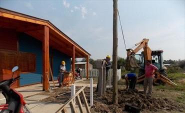 Energía: con 1.700 metros de nuevas redes, alistan más obras en La Olla