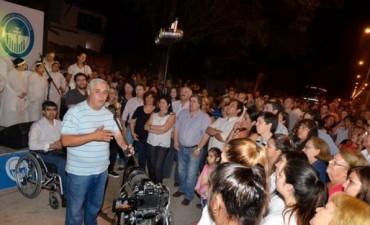 Con un guiño a Camau y a CKF, Ríos inició la campaña 2015
