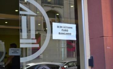 Comienza el paro bancario que seguirá mañana