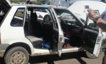 Correntinos atrapados con droga en el Chaco