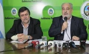 Colombi va a Buenos Aires para encarar gestiones y asistiría a la jura de Valdés