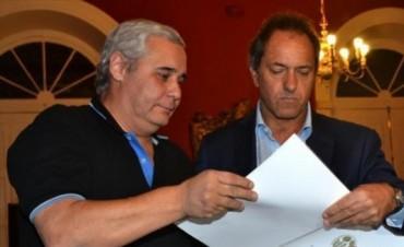 Ríos espera a Scioli y anuncia internas para el 15/3