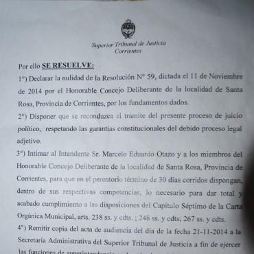 Santa Rosa: continúa juicio político a Marcelo Otazo y Juan José encinas, inminente nueva suspensión