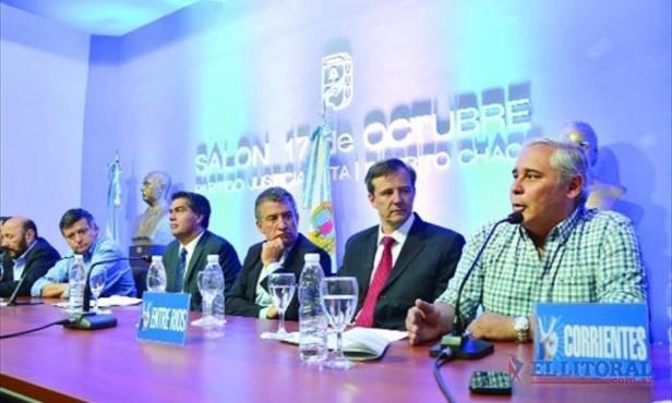 Fuerte apoyo político en la región para Scioli-Zannini