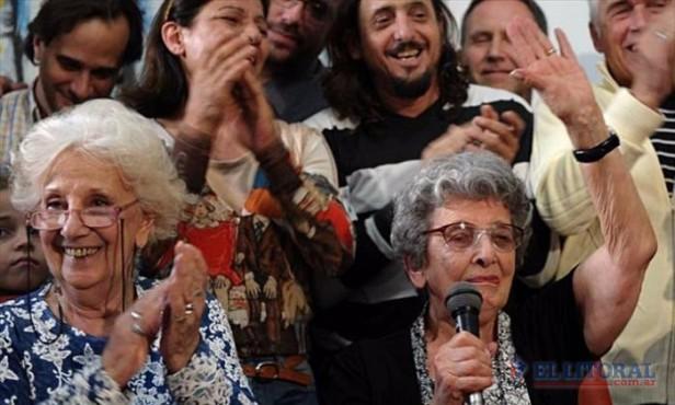 Abuelas anunció la recuperación del nieto 118