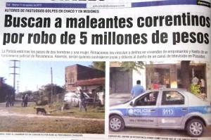 Detuvieron a miembros de banda sospechada de robos millonarios