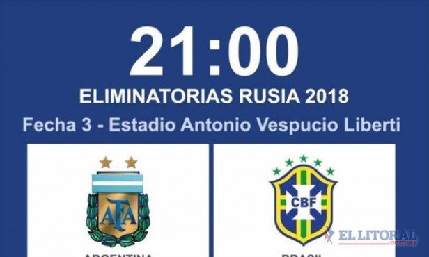 Tras la postergación, Argentina y Brasil van por el clásico sudamericano